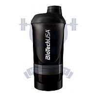 BioTech Shaker Wave + 3 in 1 шейкер для спортивного питания тренировок