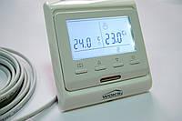 Програмований кнопковий терморегулятор теплої підлоги M 6.716 з дисплеєм
