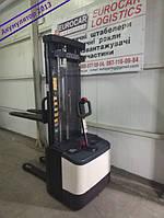 Штабелер электрический поводковый CROWN 2013 Батарея!!!  1,6т 5.2м, фото 1
