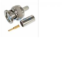 Разъем BNC-M под коаксиальный кабель RG-58,  RG-59, RG-6  Q100