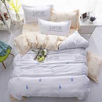 Комплект постельного белья Love (полуторный)