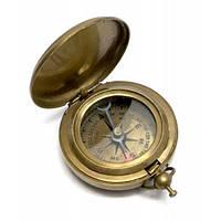 Компас карманный антик бронза (4,5х4,5х1,5 см) ( 28234A)