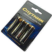 Батарейки PREMIUM Alkaline СУПУТНИК LR6 (AA 1.5 V) пальчикові батарейки