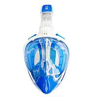 Маска для ныряния на всё лицо BS Diver Easybreath (синяя)