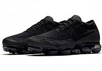 Мужские кроссовки Nike Air Vapormax Flyknit (Black / Anthracite - Dark Grey)
