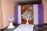 Дерево, свадебное оформление, декор, оформления фотозоны