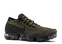 Женские кроссовки Nike Air Vapormax Flyknit (Cargo Khaki / Black