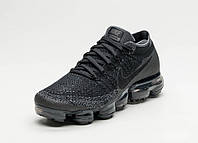 Женские кроссовки Nike Air Vapormax Flyknit (Black / Anthracite - Dark Grey)