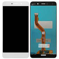 Дисплей модуль Huawei Mate 9 Lite в зборі з тачскріном, білий