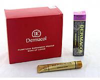 Тональный крем для всех типов кожи 207 Dermacol в упаковке 12шт, светлый розово-персиковый, водостойкий, алюминевая упаковка