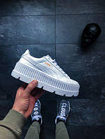 Женские кроссовки Puma x Fenty Cleated Creeper leather