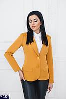 Женский пиджак (48, 50, 52, 54, 56, 58) - коттон мемори купить оптом и в Розницу в Одессе Украина 7км