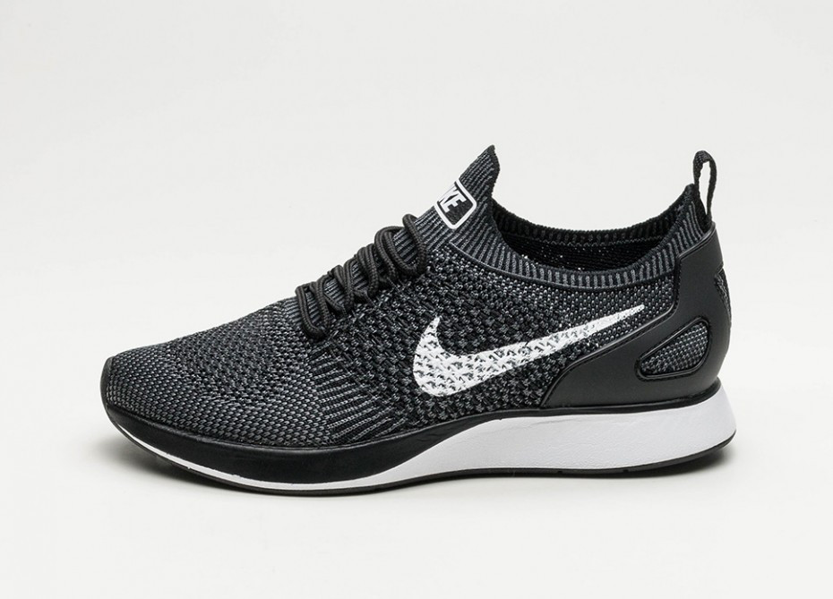 c1ce651c Женские кроссовки Nike Air Zoom Mariah Flyknit Racer (Black / White — Dark  Grey)