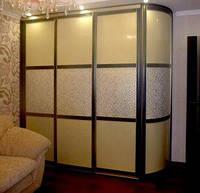 Шкаф-купе с радиусным элементом