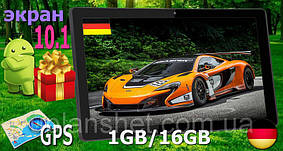 ОРИГИНАЛЬНЫЙ НЕМЕЦКИЙ планшет 10 дюймов! 16GB, 1GB RAM, GPS + ЧЕХОЛ в ПОДАРОК!!!
