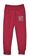 Весенние спортивные штаны для девочки S&D, Венгрия 116, розовый