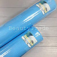 Одноразовая простынь Эко-Лайн рулон 0,6х100 голубые (для кушеток)