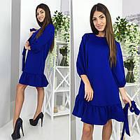 Красивое женское платье ткань дайвинг
