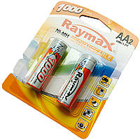 Батарейки RAYMAX HR6 1.2 V 1000mAh Ni-MH AA blister card/2pcs (2шт.)