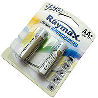 Батарейки RAYMAX HR6 1.2 V 1500mAh Ni-MH AA blister card/2pcs (2шт.)
