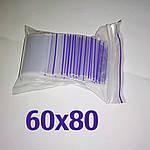 Пакет zip-lock 60*80 мм
