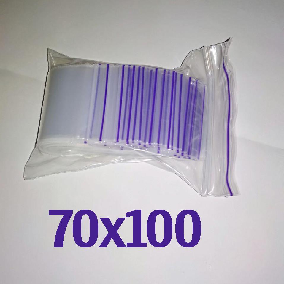 Пакет zip-lock 70*100 мм