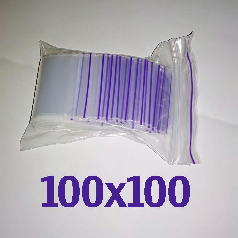 Пакет zip-lock 100*100 мм