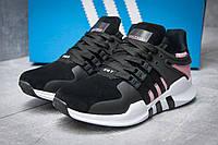 Кроссовки женские   Adidas  EQT ADV/91-16, черные (12003),  [  40 41  ] (реплика), фото 1
