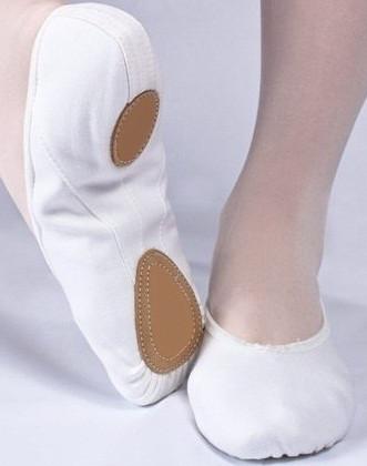 Балетки для танцев (текстильные)