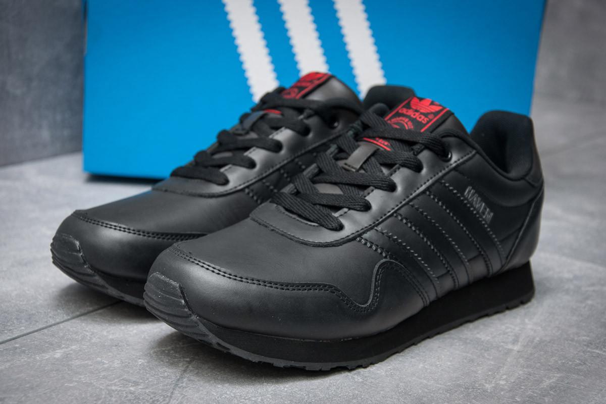 Кроссовки мужские Adidas  Haven, черные (12012) размеры в наличии ► [  46 (последняя пара)  ] (реплика)
