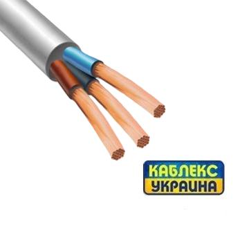 Провід мідний ПВС 3х1 (Каблекс Одеса)