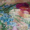 Снуд хомут голубого цвета с цветами шифон , фото 7