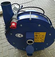 Зернодробилка молотковая дробилка ДКУ подрібнювач зерна 7,5 кВт