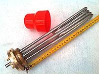 """Блок-тэн 9 кВт 2,0"""" для электрокотла, 300 мм (скрепка)"""