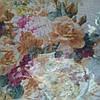Снуд хомут голубого цвета с цветами шифон , фото 4