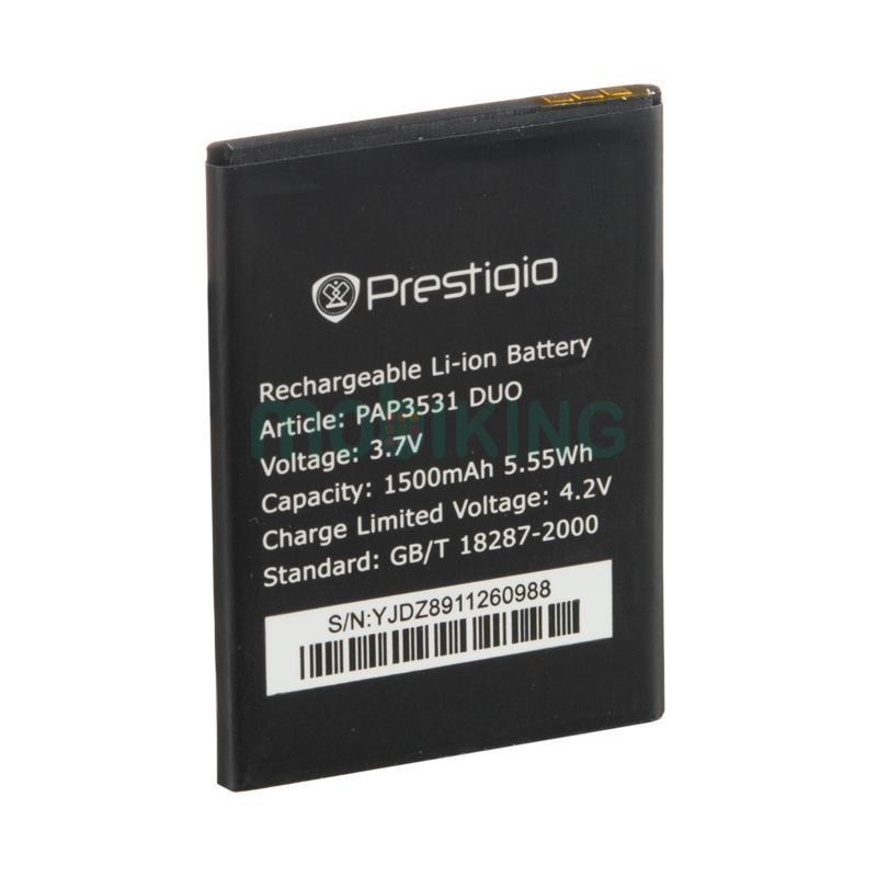 Батарея оригинал Prestigio PAP3531 для мобильного телефона, аккумулятор.