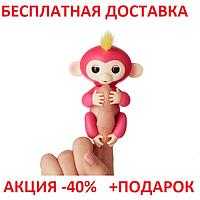 Fingerlings Happy Monkey Хеппи Манки ORIGINAL size Интерактивная ручная обезьянка обезьянка на палец