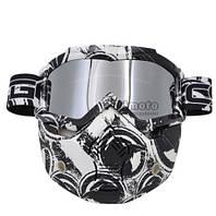 Тактическая маска. Маска на все лицо для мотоциклистов и велосипедистов. Модель 9