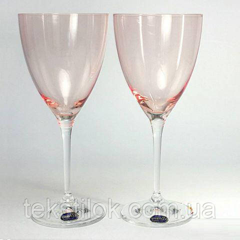 Бокалы для вина Кате  250мл 6шт Pink Bohemia