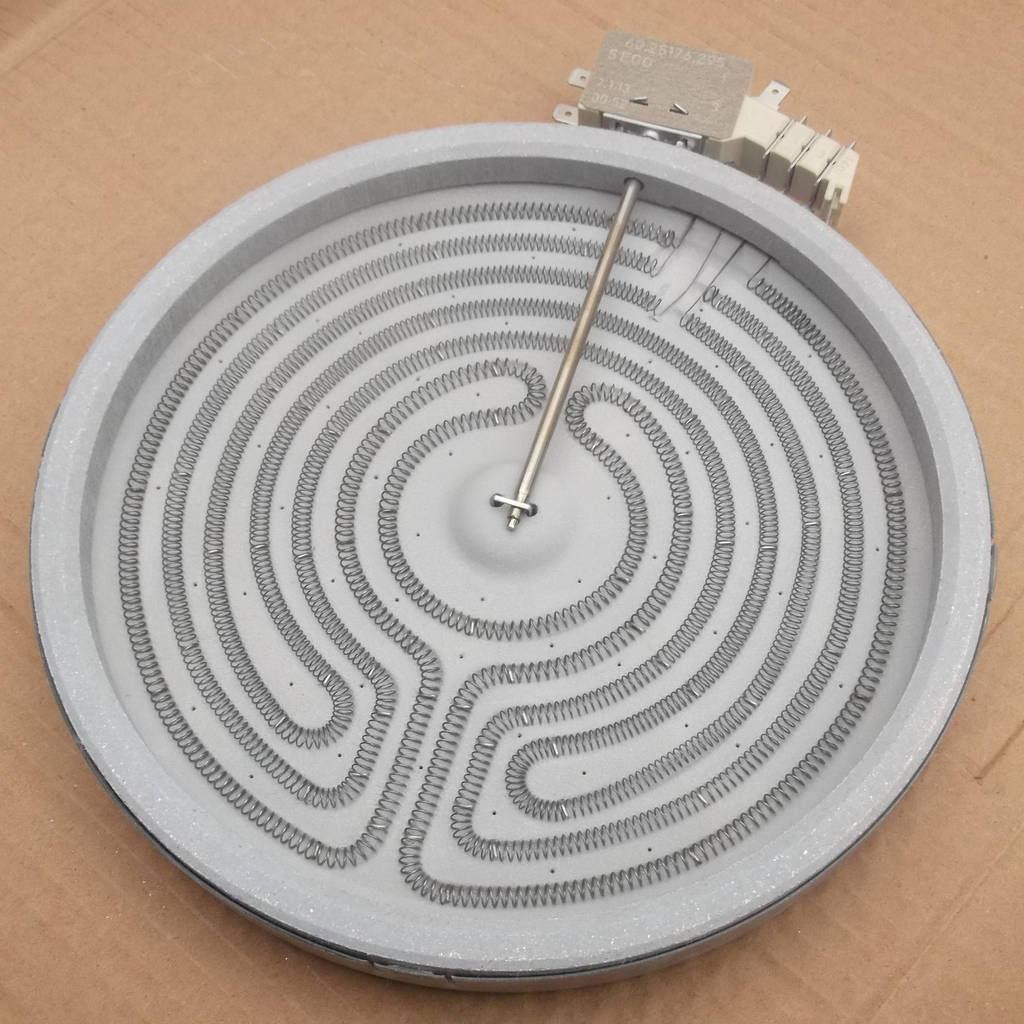 Конфорка ТЭН для стеклокерамической плиты 2100 Вт (большая)