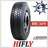 Hifly HH309 315/80R22.5 156/152L шина грузовая ведуча, купить грузовые шины Хайфлай на заднюю ось