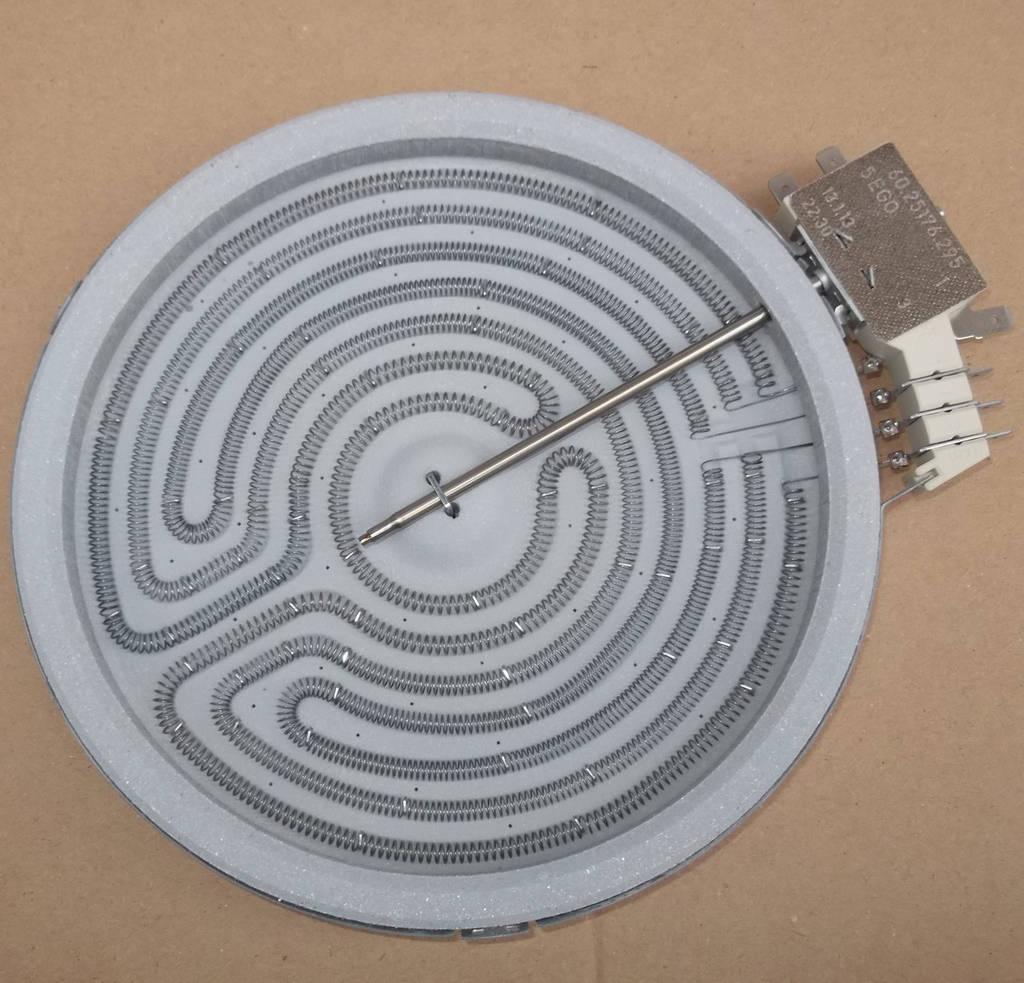 Конфорка ТЭН для стеклокерамической плиты 1700 Вт (средняя)