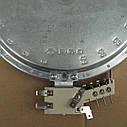 Конфорка ТЭН для стеклокерамической плиты 1700 Вт (средняя), фото 2