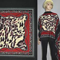 Трикотаж трикотажная ткань трикотажное полотно черный красный платки ш.150