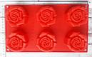 Силиконовая форма Роза 17*29 см, фото 2