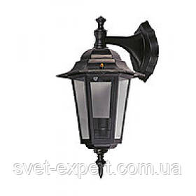 Світильник сад-парк DELUX PALACE A02 15W LED E27 чорний