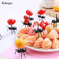 Шпажки в виде муравьев 4,5*4,5 см набор 10 шт