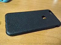 Накладка бампер Leather soft case iPhone 6 6s под кожу с вырезом