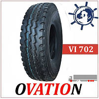 Ovation VI702 10.00R20 (280R508) 149/146K грузовые шины универсальные, усиленные китайские шины на КАМАЗ МАЗ