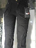 Женские джинсовые брюки черные, фото 1